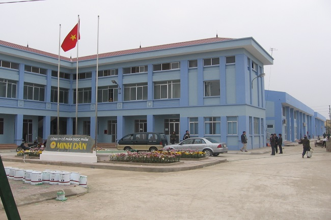 CTCP Dược phẩm Minh Dân